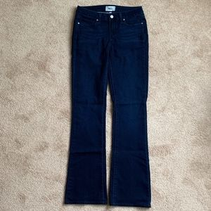 "Paige ""Manhattan"" jeans in dark-indigo stretch"